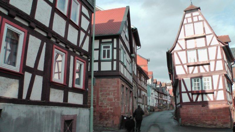 Blick in die Büdinger Altstadt