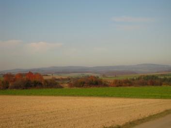 Landschaft Rinderbügen